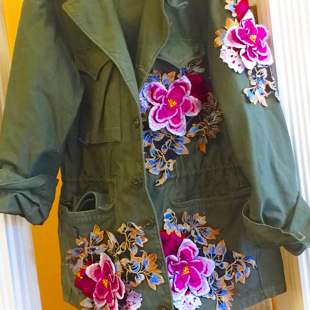 "The ""CdJ Flower"" Field Jacket - Cult de Jour"
