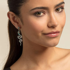 Single Snake Earring by THOMAS SABO