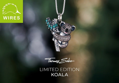 WIRES Koala Necklace