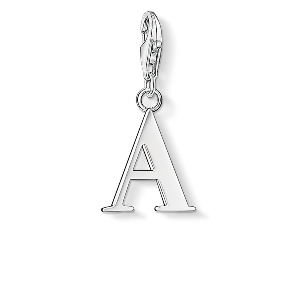 Letter A Charm Pendant by THOMAS SABO