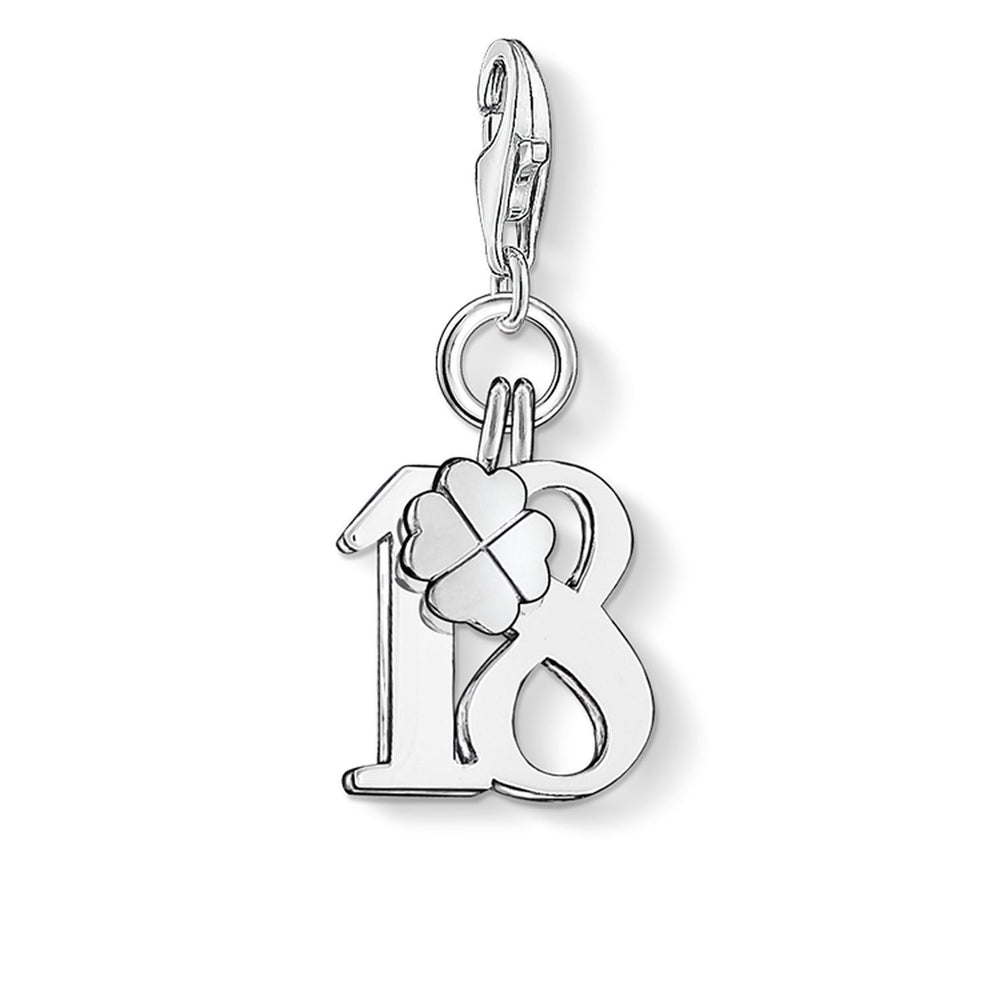 "THOMAS SABO Charm Pendant ""Lucky Number 18"""