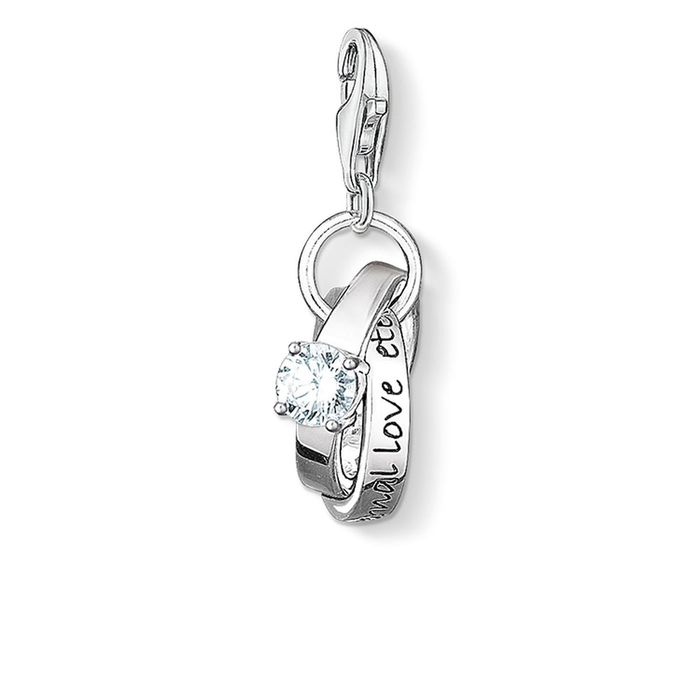 "THOMAS SABO Charm Pendant ""Wedding Rings"""