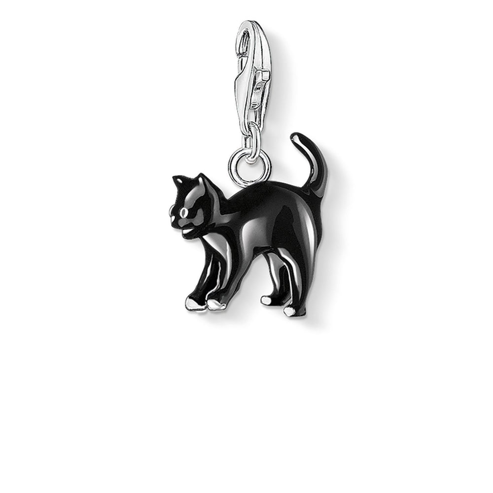 "THOMAS SABO Charm Pendant ""Black Cat"""