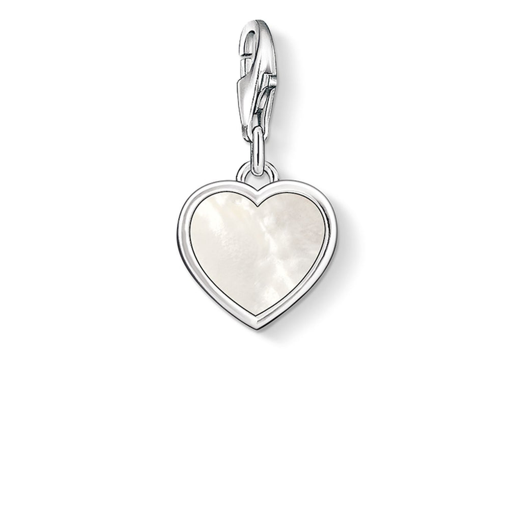 "THOMAS SABO Charm Pendant ""Mother-Of-Pearl Heart"""