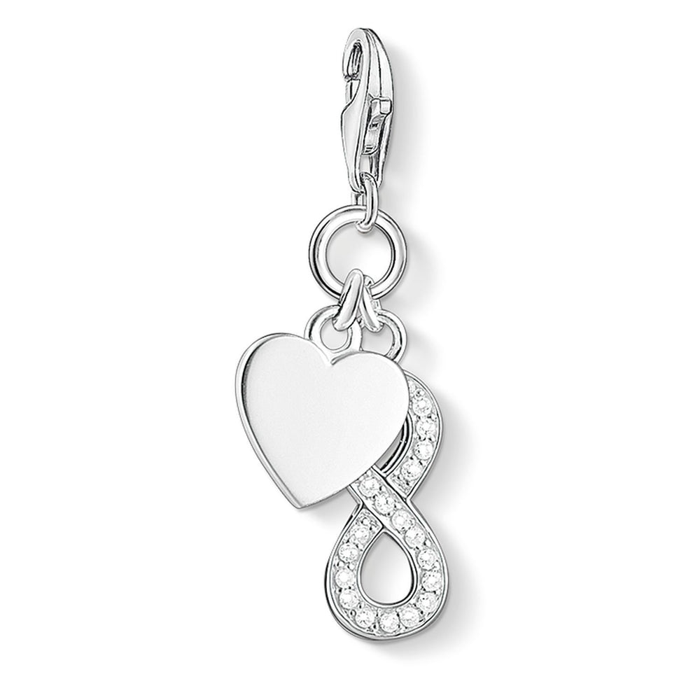 "THOMAS SABO Charm Pendant ""Heart With Infinity"""