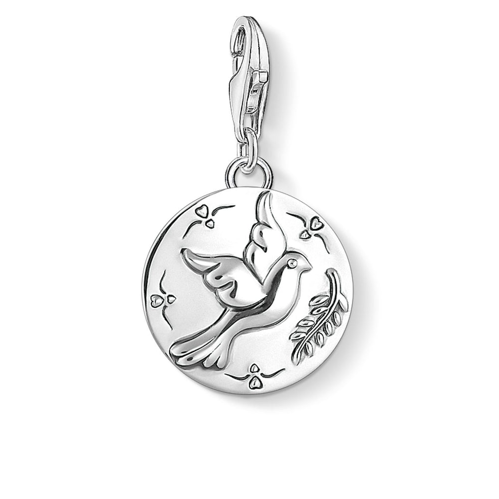 "THOMAS SABO Charm Pendant ""Disc Dove"""