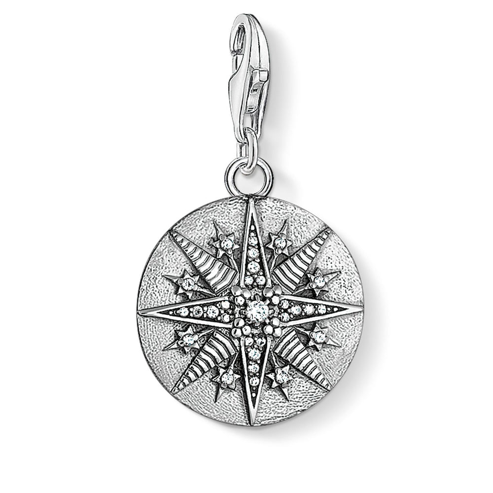"THOMAS SABO Charm Pendant ""Disc Star"""