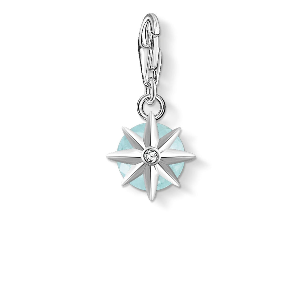 Charm Pendant Birth Stone March | Thomas Sabo