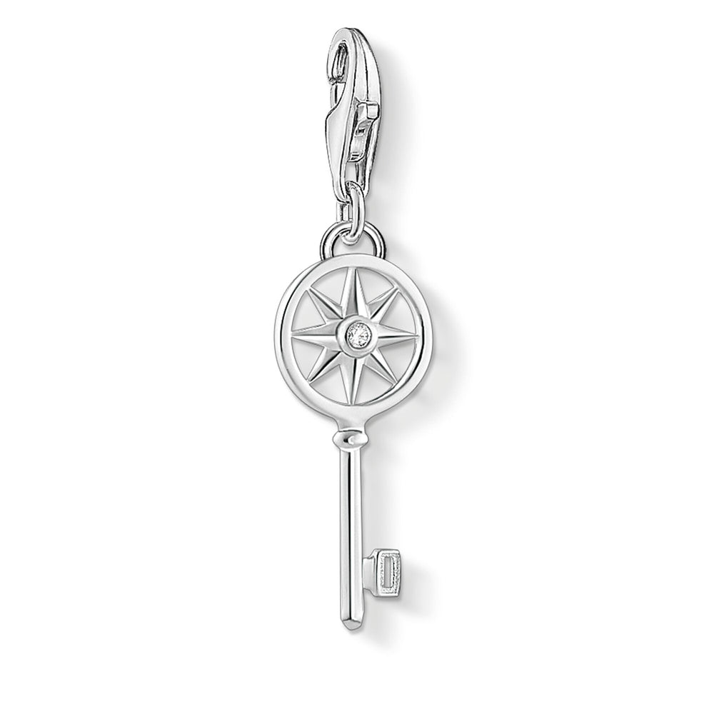 Charm Pendant Key With Star