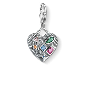 Charm Pendant Heart Colourful Stones | Thomas Sabo