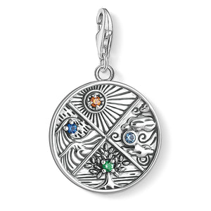 Charm Pendant 4 Elements: Earth, Water, Air, Fire | Thomas Sabo