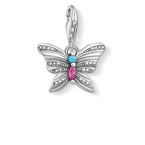 Charm Pendant Butterfly Silver | Thomas Sabo