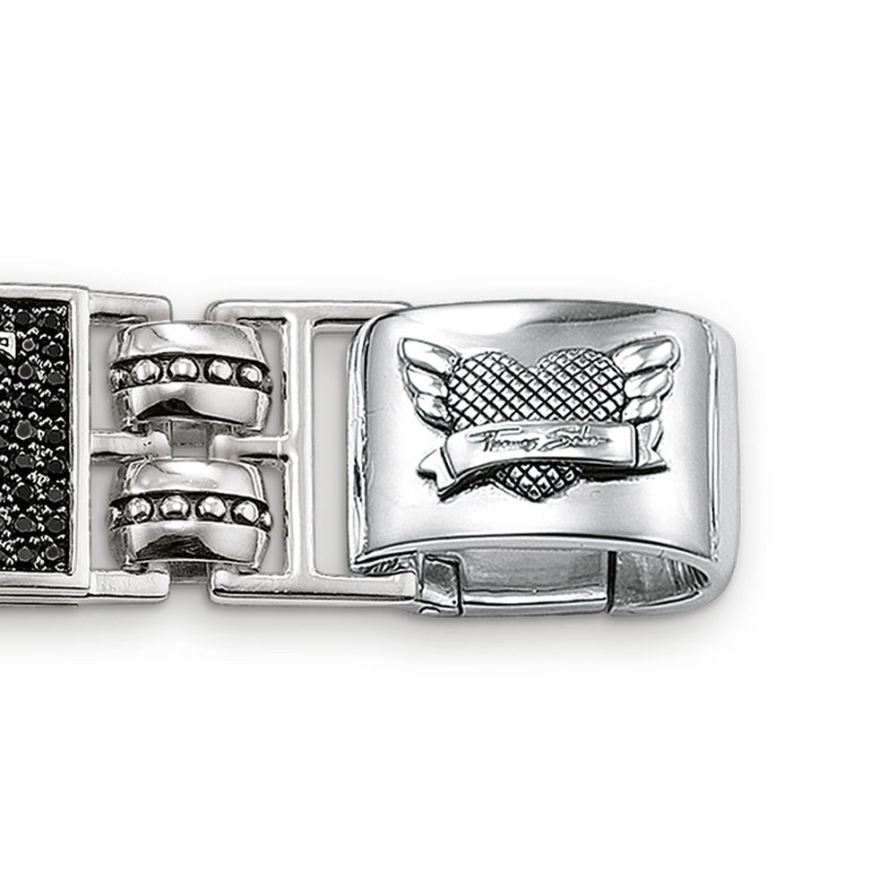 "THOMAS SABO Bracelet ""Dragon, Lily, Cross"""