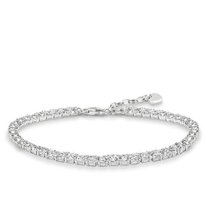 Tennis Bracelet in Sterling Silver & White Zirconia | Thomas Sabo
