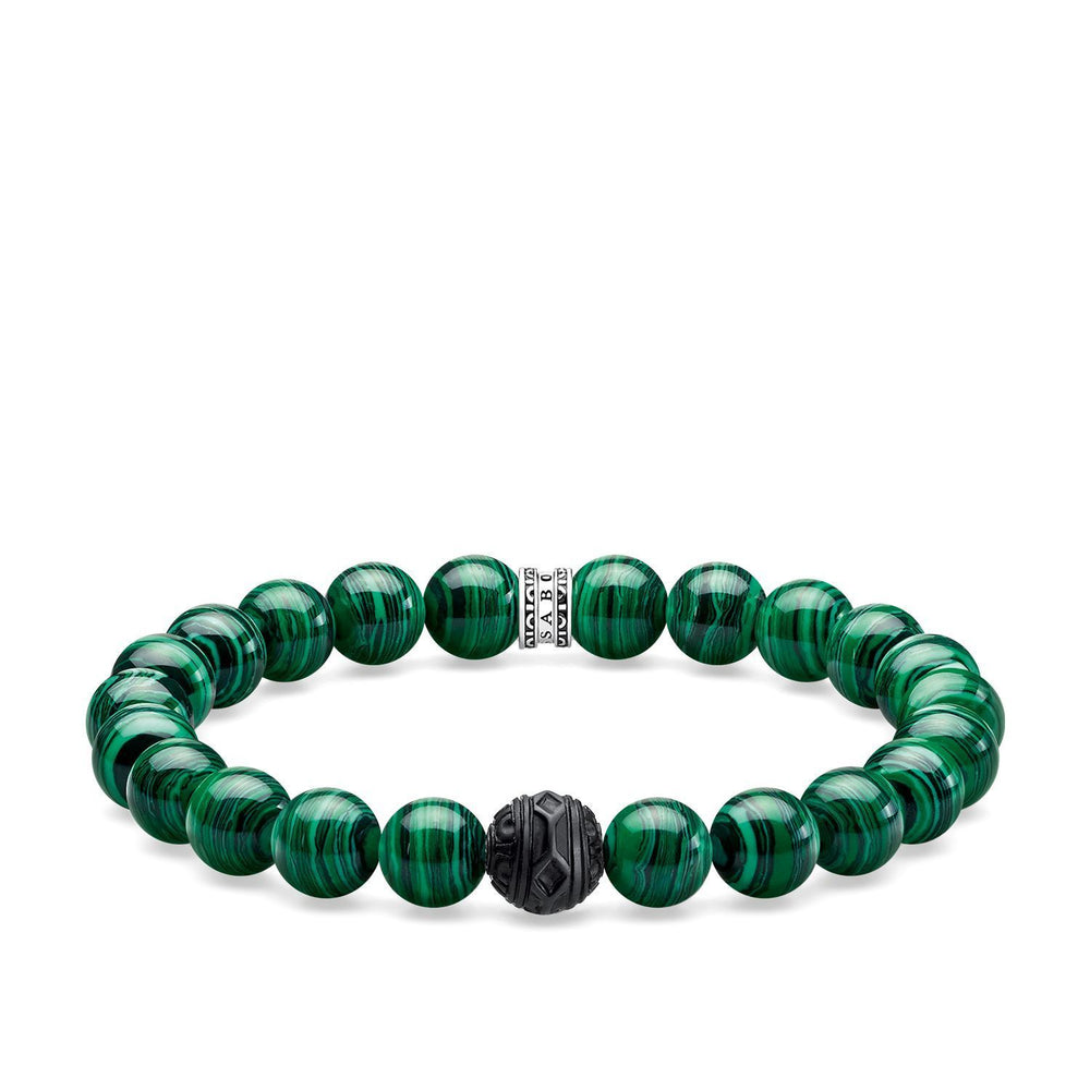 "THOMAS SABO Bracelet ""Black Cat Green"""