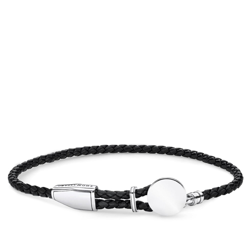 "THOMAS SABO Leather Strap ""Disc"""