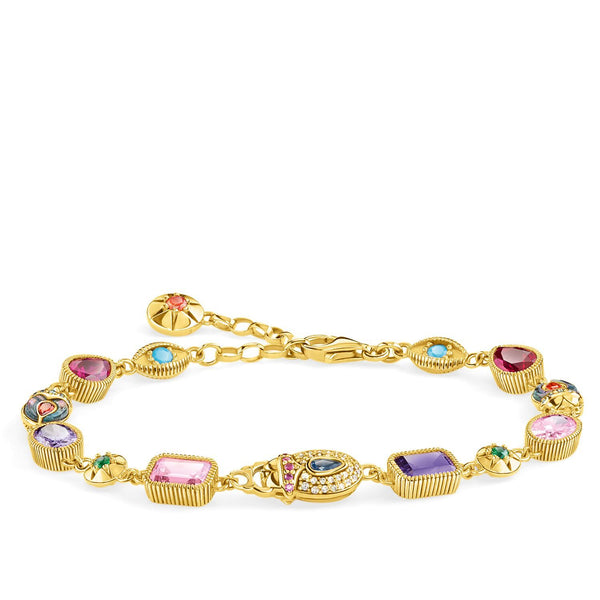 Bracelet Large Lucky Charms, Gold