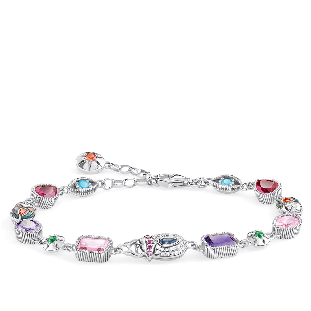 Bracelet Large Lucky Charms, Silver | Thomas Sabo