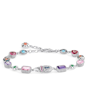 Bracelet Large Lucky Charms, Silver