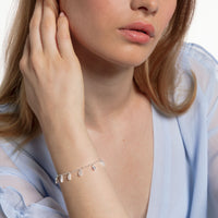 Bracelet Angular Stones With Baguette Cut | Thomas Sabo