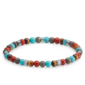 Bracelet Lucky Charm, Colourful | Thomas Sabo