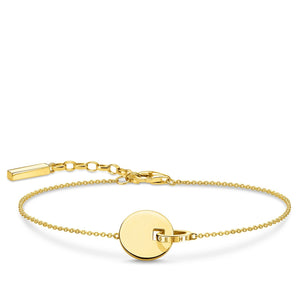 Bracelet Together Coin With Gold-coloured Ring | Thomas Sabo