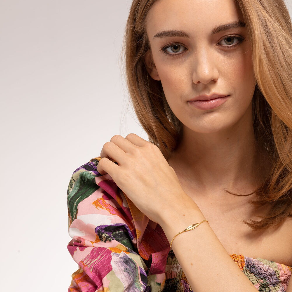 Bracelet Leaf Gold | Thomas Sabo