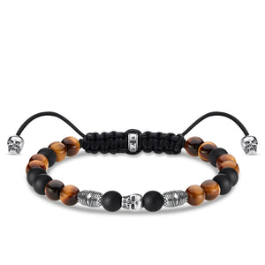 Bracelet Brown Skull | Thomas Sabo