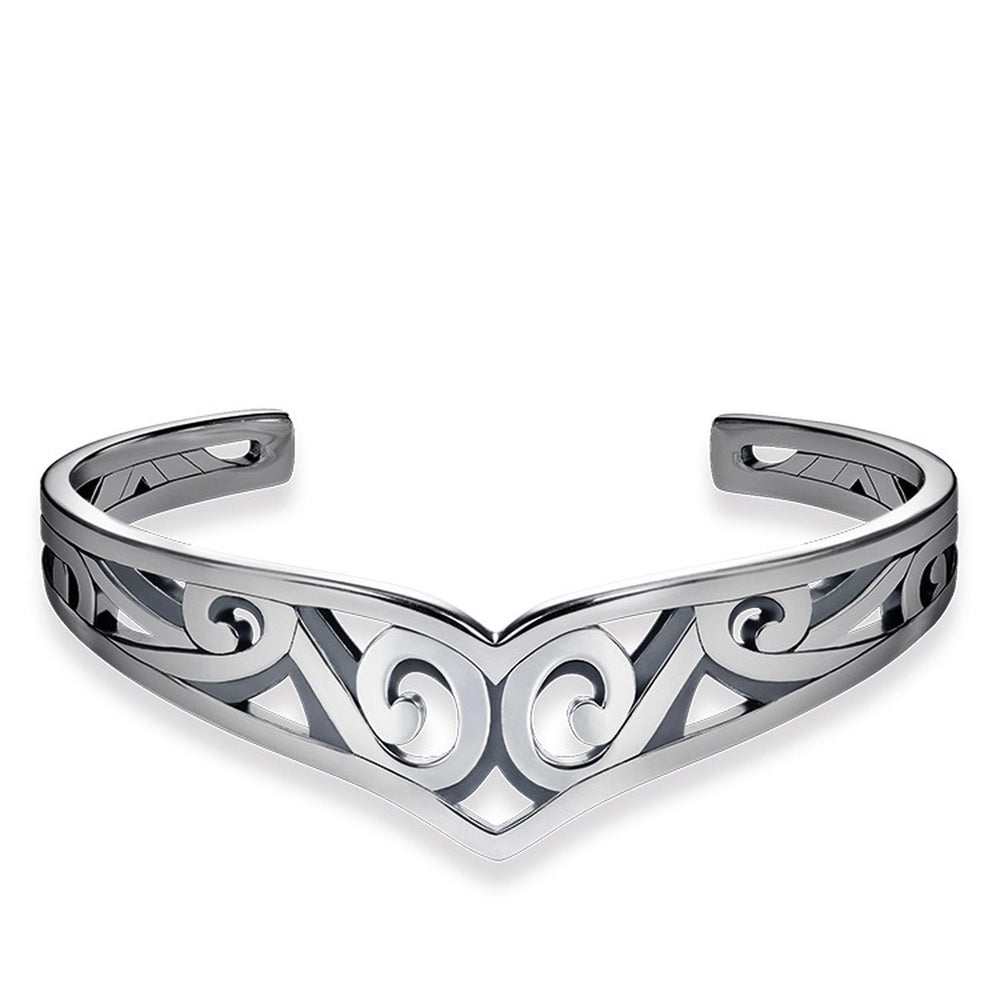 "Bangle ""Maori Ornamentation"""