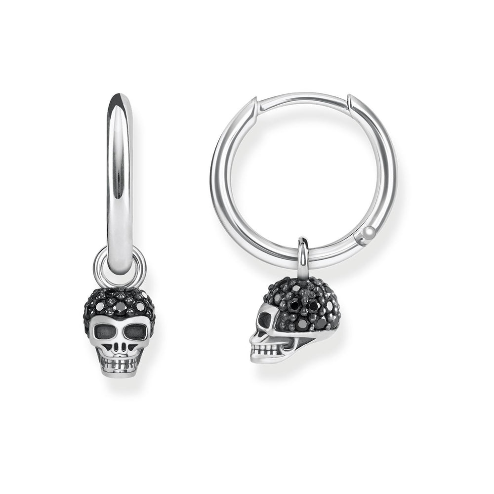 "THOMAS SABO Hoop Earrings ""Skull"""