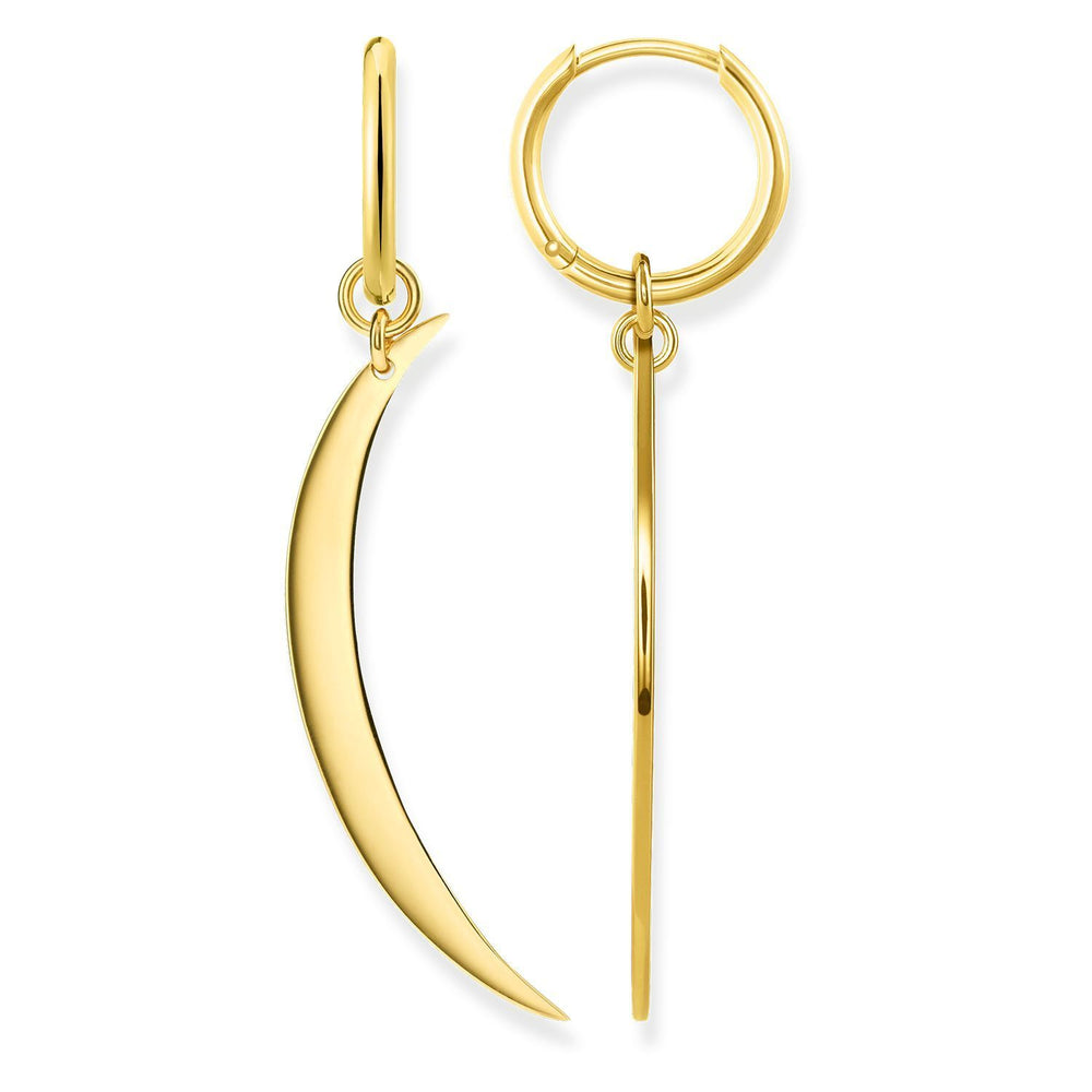 "THOMAS SABO Hoop Earrings ""Moon"""