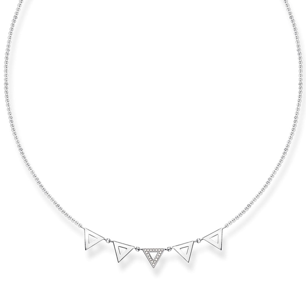 "Necklace ""Triangle"""
