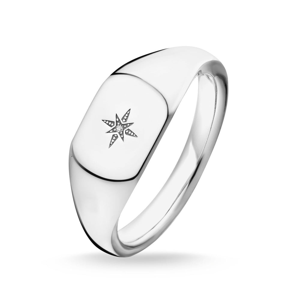 "Thomas Sabo Ring ""Vintage Star Silver"""