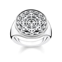 "THOMAS SABO Ring ""Vintage Compass Silver"""