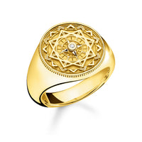 "Thomas Sabo Ring ""Vintage Compass Gold"""