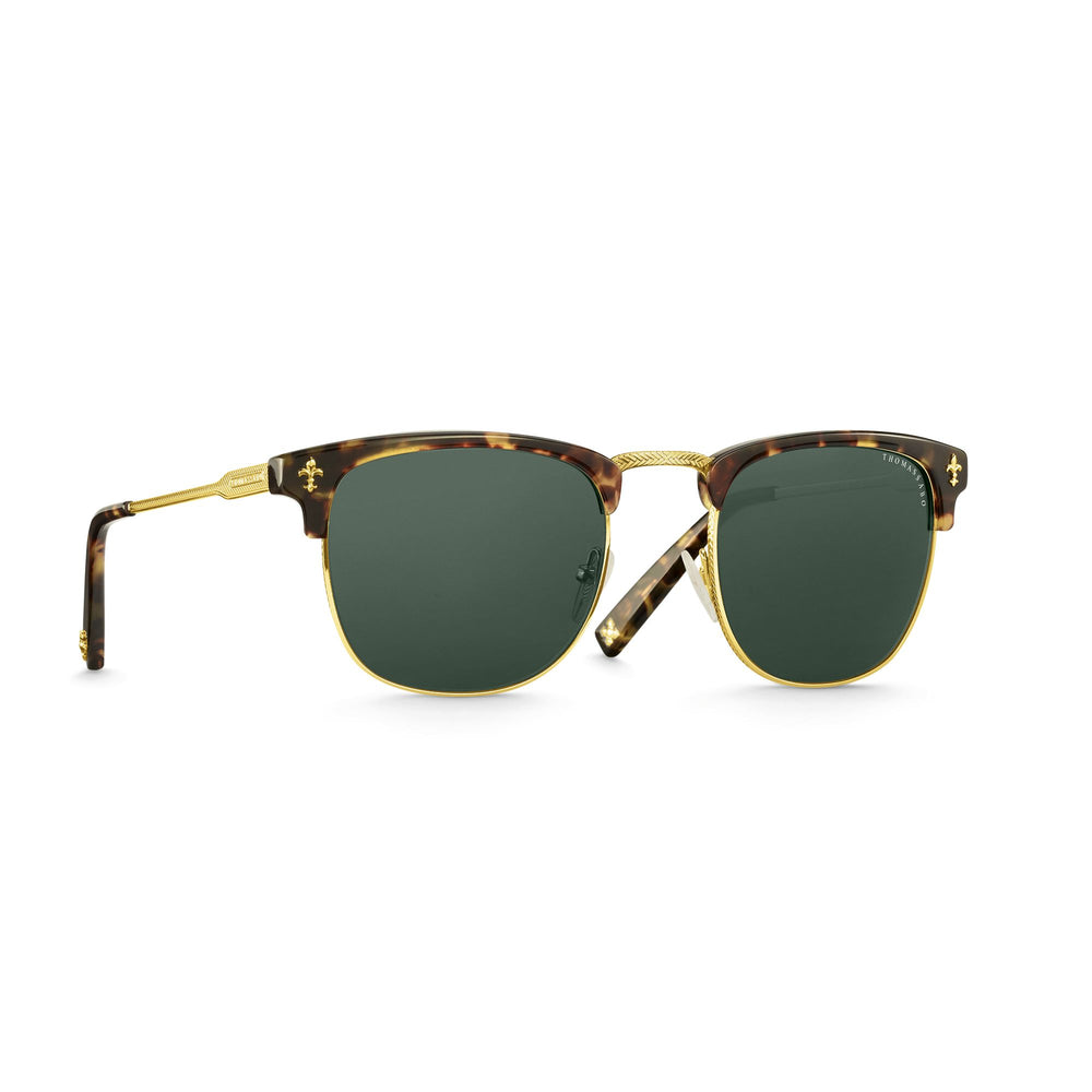 "Sunglasses ""James"" Lily Havana Trapeze Not Polarised 