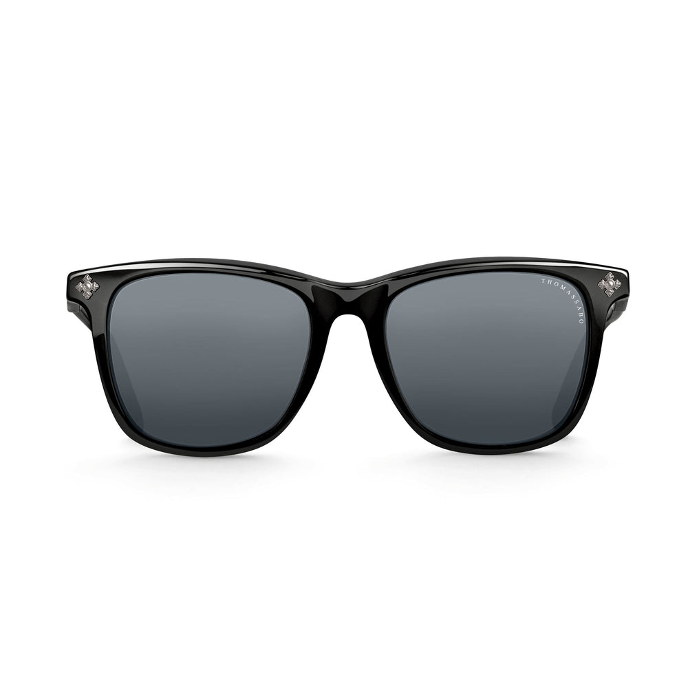 "Sunglasses ""Marlon"" Polarised Square Cross 