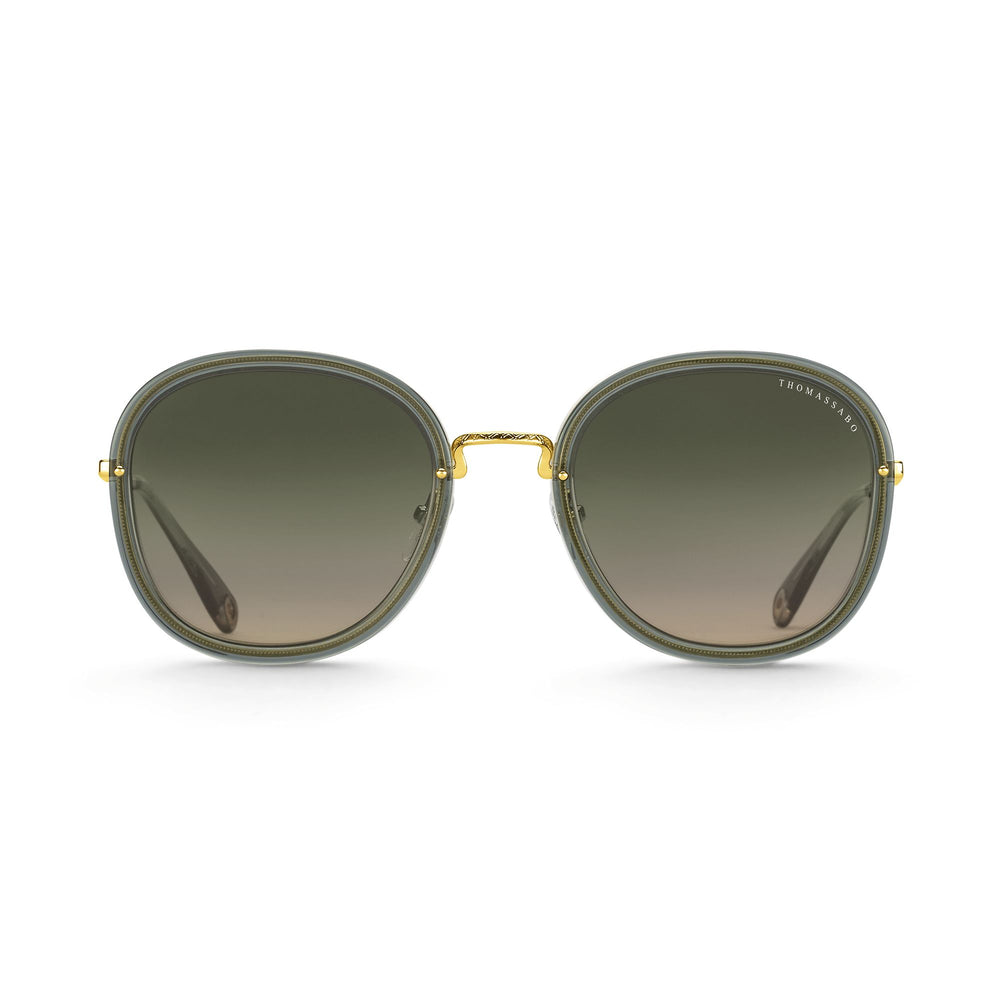 "Sunglasses ""Mia"" Green Square 