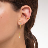 Ear Cuff Dots (Single)