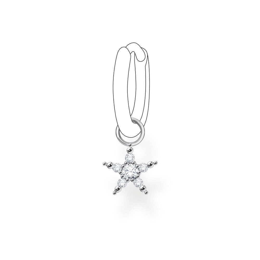 Ear Pendant Star (Single)