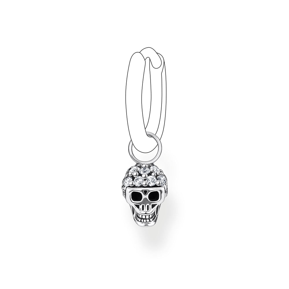 Ear Pendant  Skull (Single)