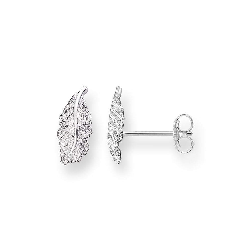 "Ear Studs ""Feather"""