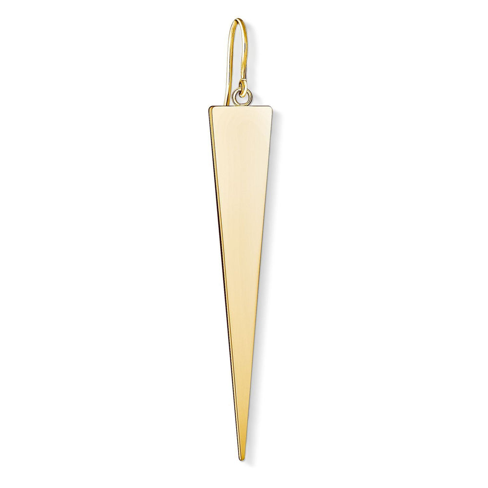 "THOMAS SABO Earring ""Triangle Gold"""