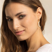 "THOMAS SABO Earring ""Moon Mother-Of-Pearl"""
