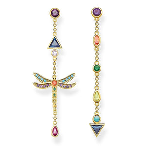 Gold Plated Dragonfly Earrings | Thomas Sabo