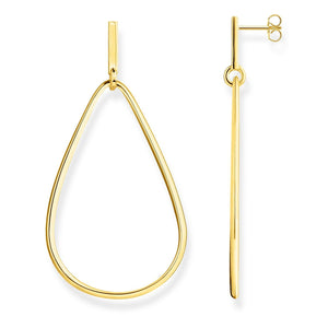 Gold Plated Classic Heritage Earrings | Thomas Sabo