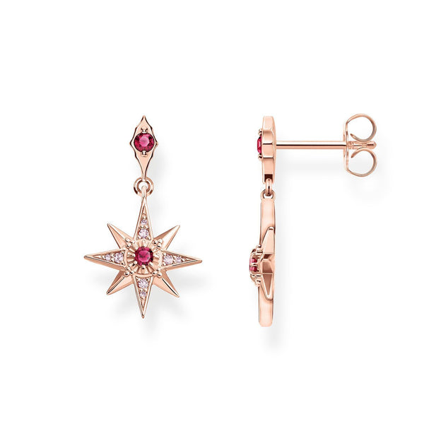 Earrings Star Pink