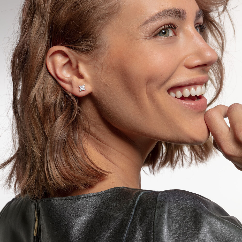Ear Studs White Stones | Thomas Sabo