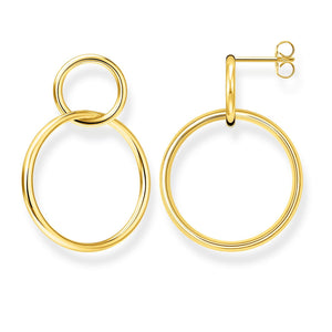 Earring Circles Gold | Thomas Sabo