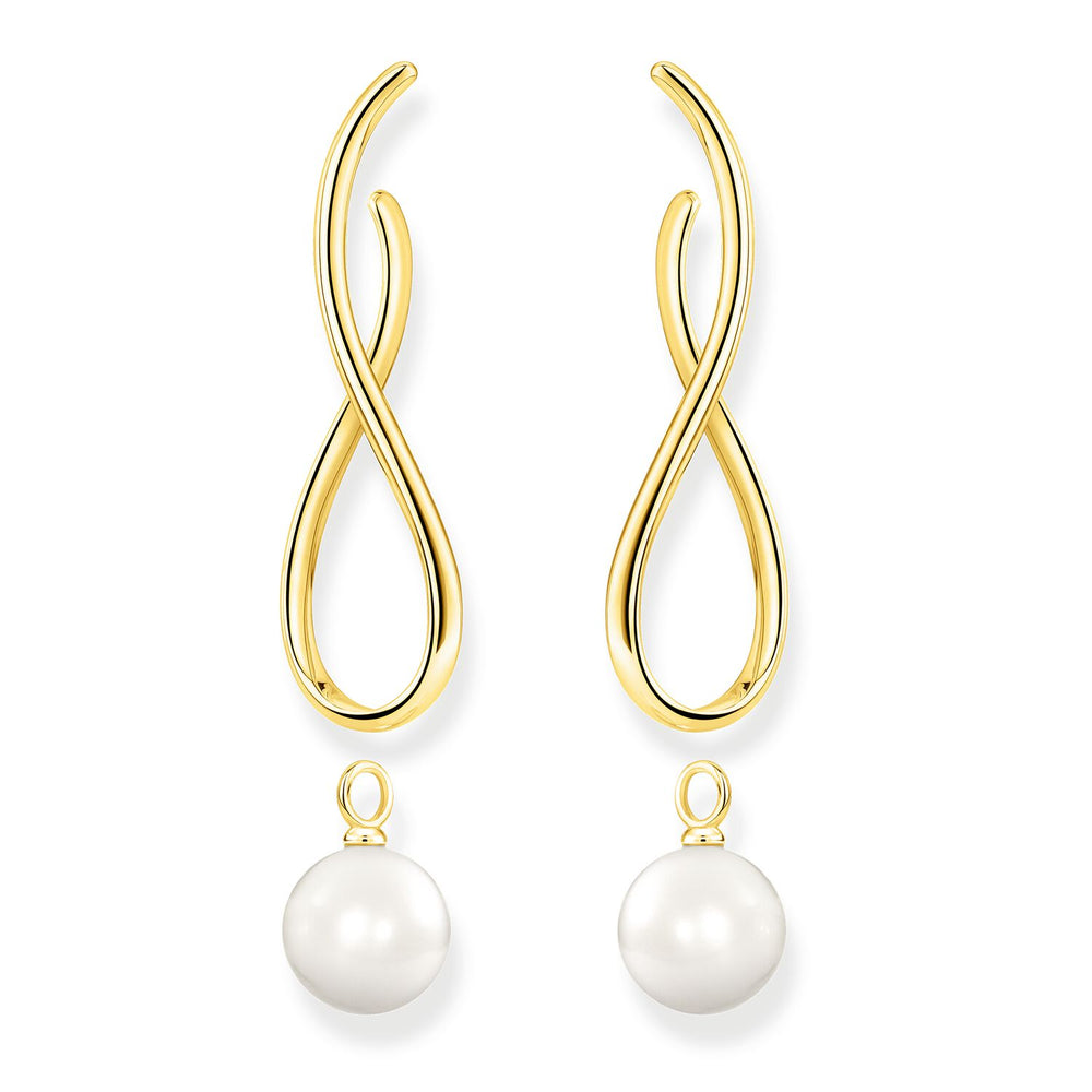 Earrings Heritage With Gold-coloured Pearl